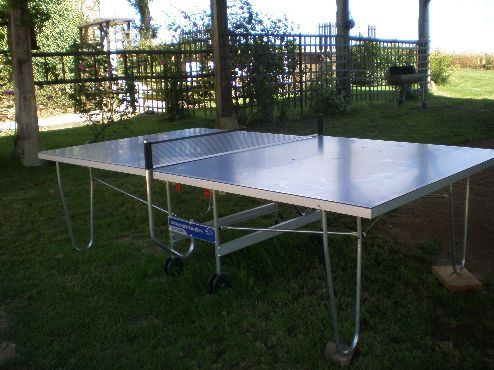About the Farm. PING PONG TABLE